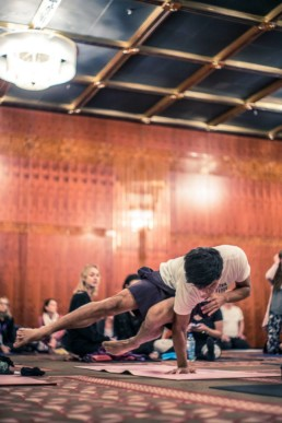 Hie Kim Yoga one arm crow